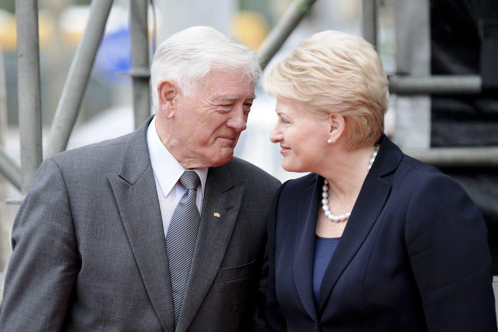Valdas Adamkus ir Dalia Grybauskaitė (nuotr. Fotodiena.lt)
