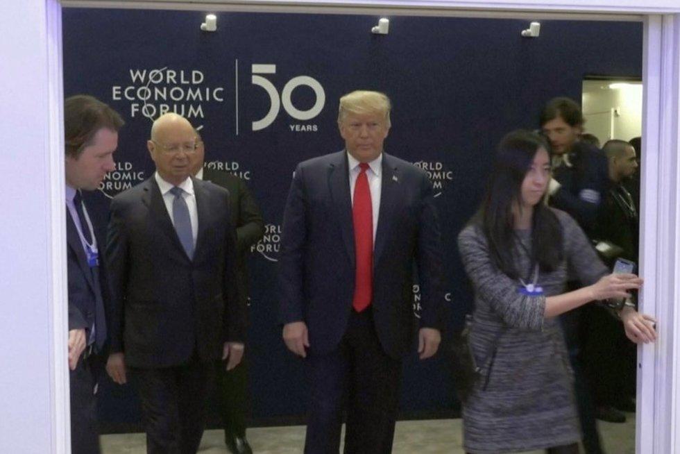 Pasaulio ekonomikos konferencija (nuotr. stop kadras)