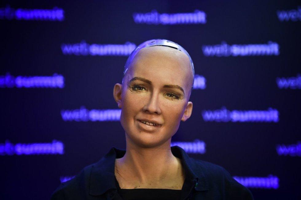 Humanoidė Sofija (nuotr. SCANPIX)
