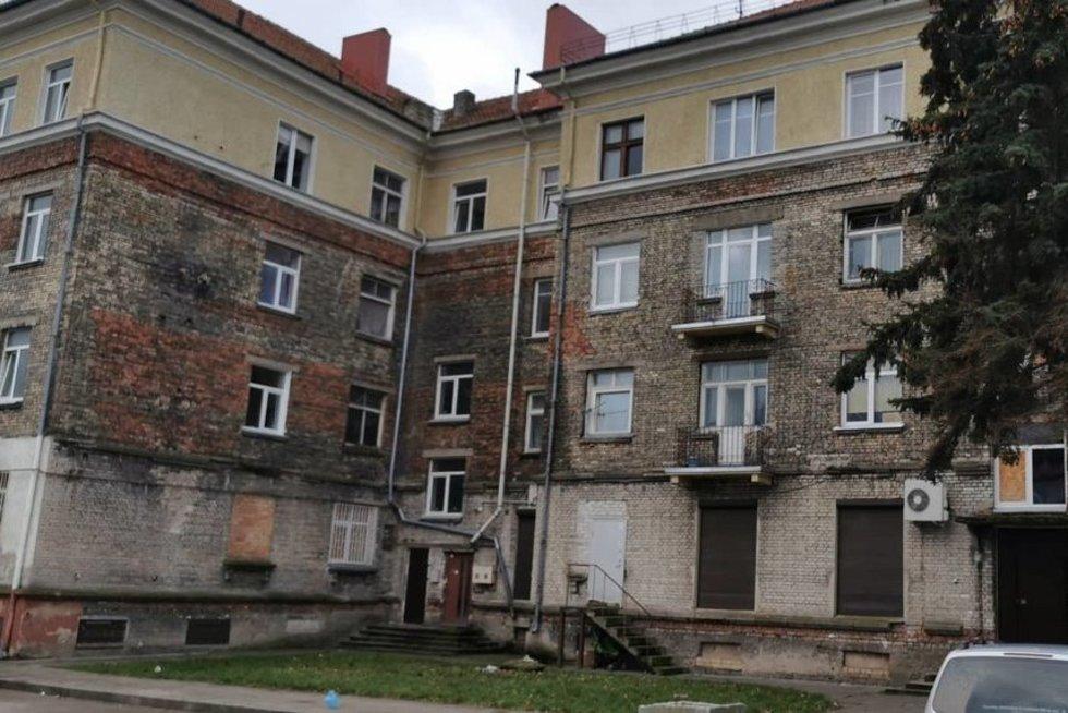 Namas, kuriame rastas negyvas kūdikis (nuotr. TV3)