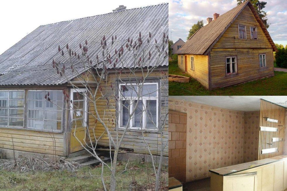 Lietuvoje parduodami namai iki 5 tūkst. eurų (nuotr. savininkų) (nuotr. asm. archyvo)