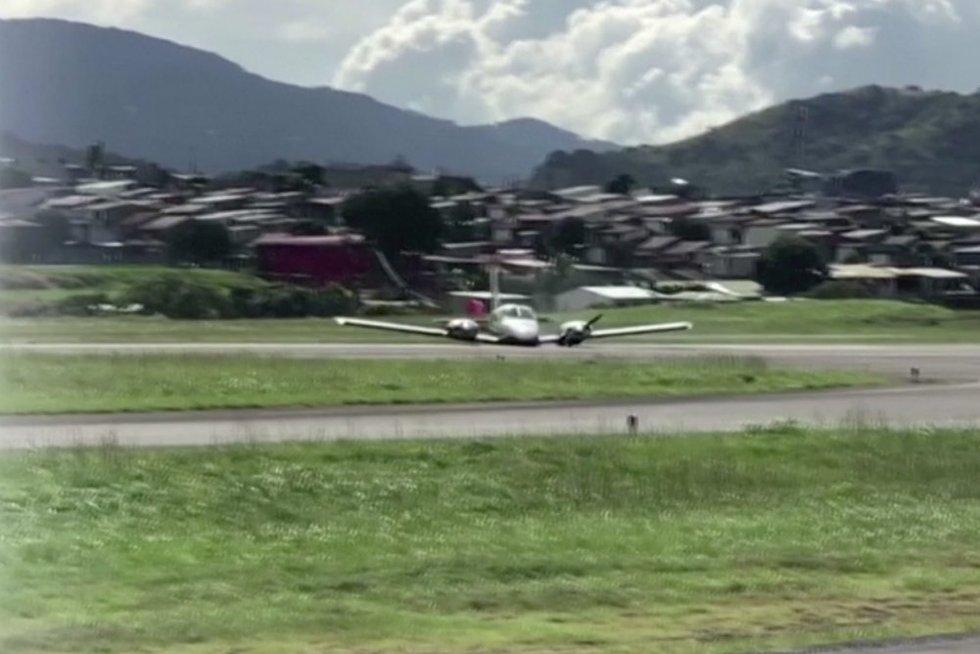 Lėktuvas (nuotr. stop kadras)