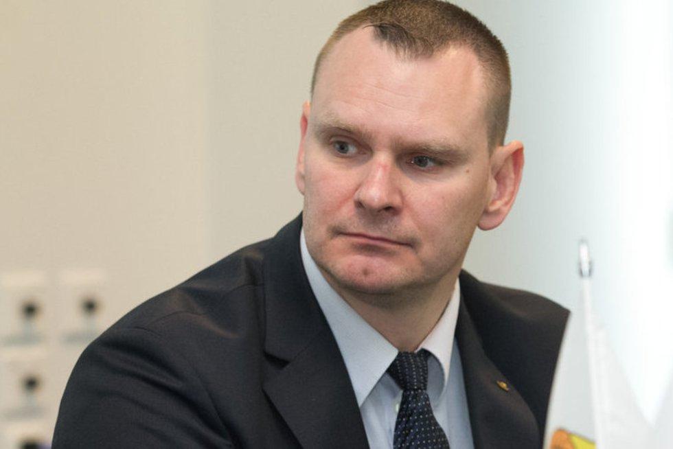 Mindaugas Špokas (nuotr. Balsas.lt/Ruslano Kondratjevo)