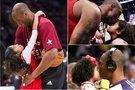 Kobe Bryantas su dukra Gianna