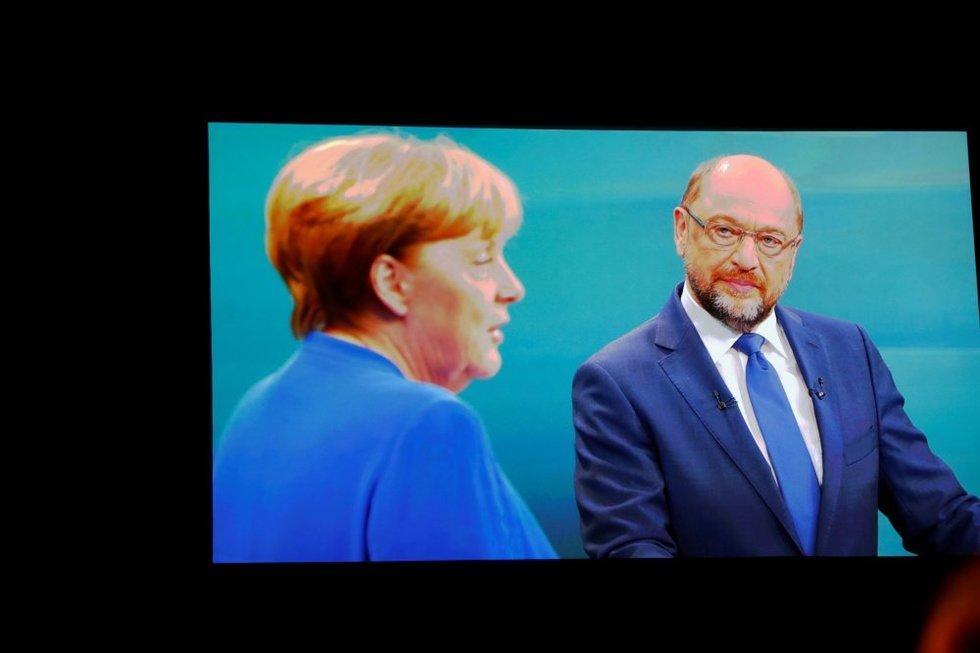 """Vokietijos rinkimai """"žaliems"""": ką reikia žinoti apie A. Merkel ir jos priešininkus (nuotr. SCANPIX)"""