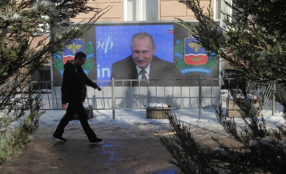 Simferopolio gatvės (nuotr. SCANPIX)