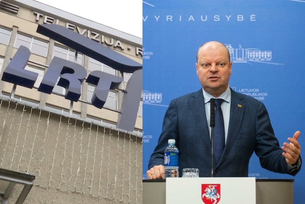 LRT žingsnis dėl Skvernelio kaltinimo paskelbus melą: situacija bus nagrinėjama etikos komisijoje (tv3.lt koliažas)