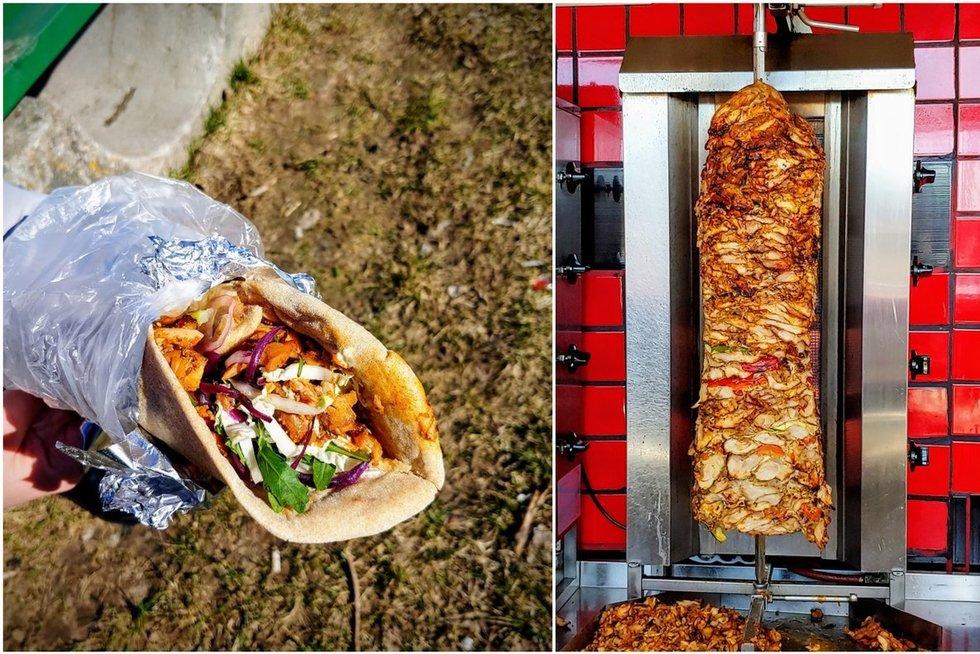 Atrado geriausius kebabus Vilniuje (Nuotr. Ančių medžioklė)