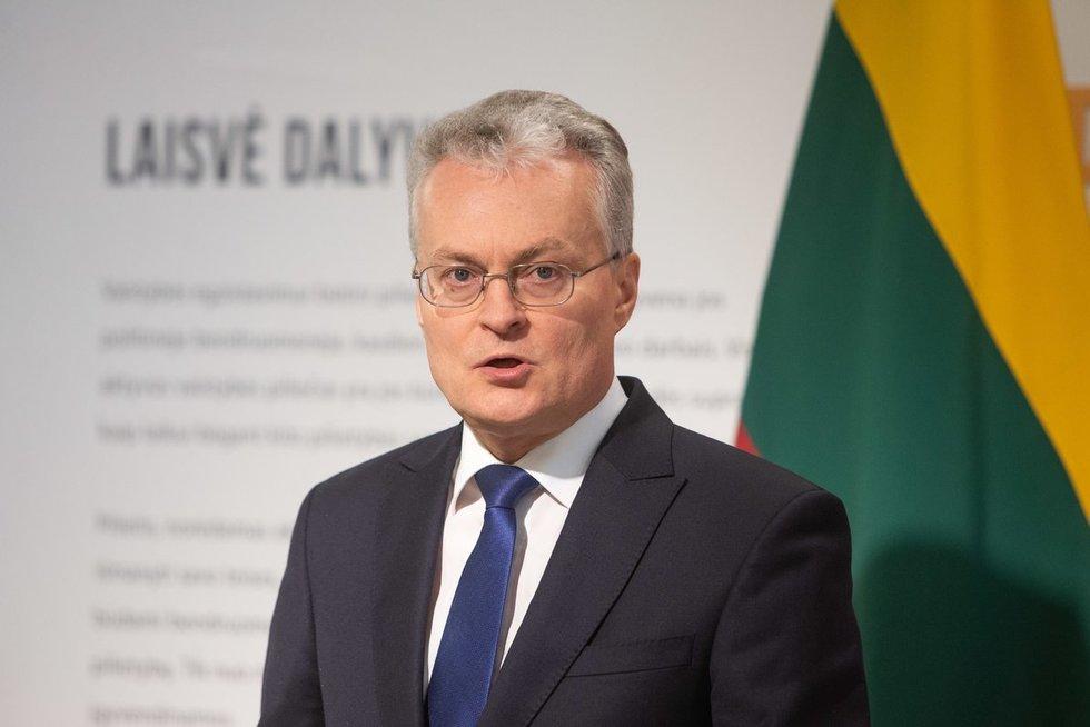 Gitanas Nausėda (nuotr. Fotodiena/Justino Auškelio)