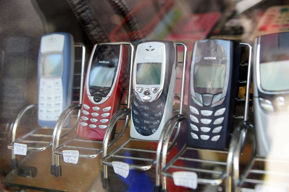 Mobilieji telefonai  (nuotr. SCANPIX)