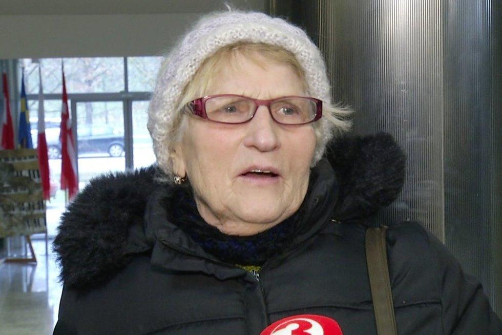 Senjorė (nuotr. stop kadras)