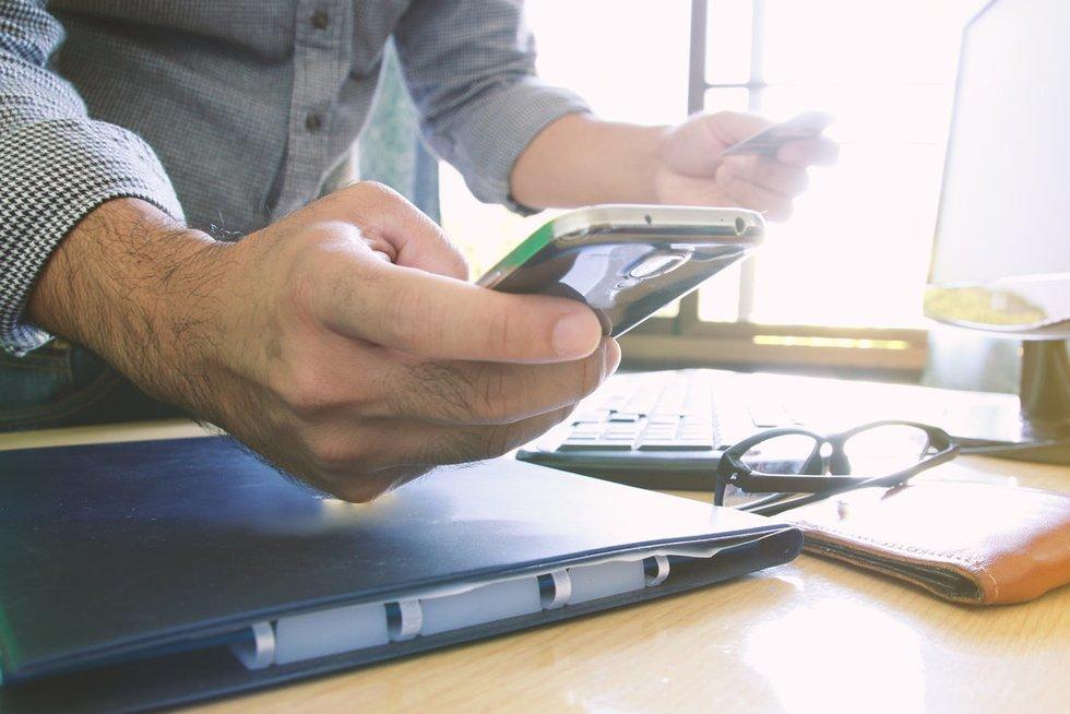 Elektroniniai atsiskaitymai (nuotr. Fotolia.com)