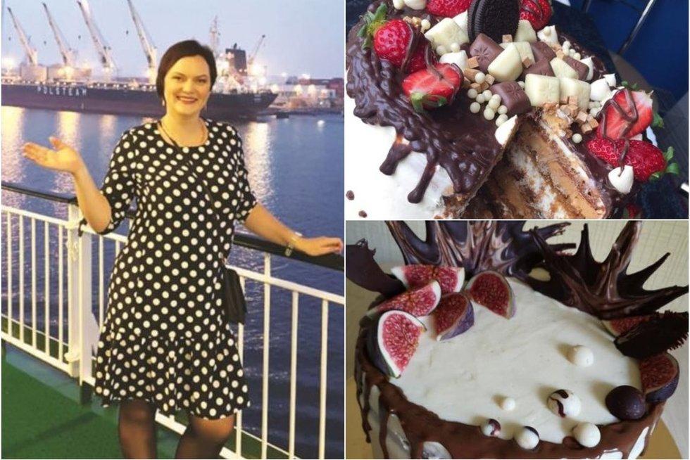 Ritos kurti tortai žavi aplinkinius (nuotr. asm. archyvo)