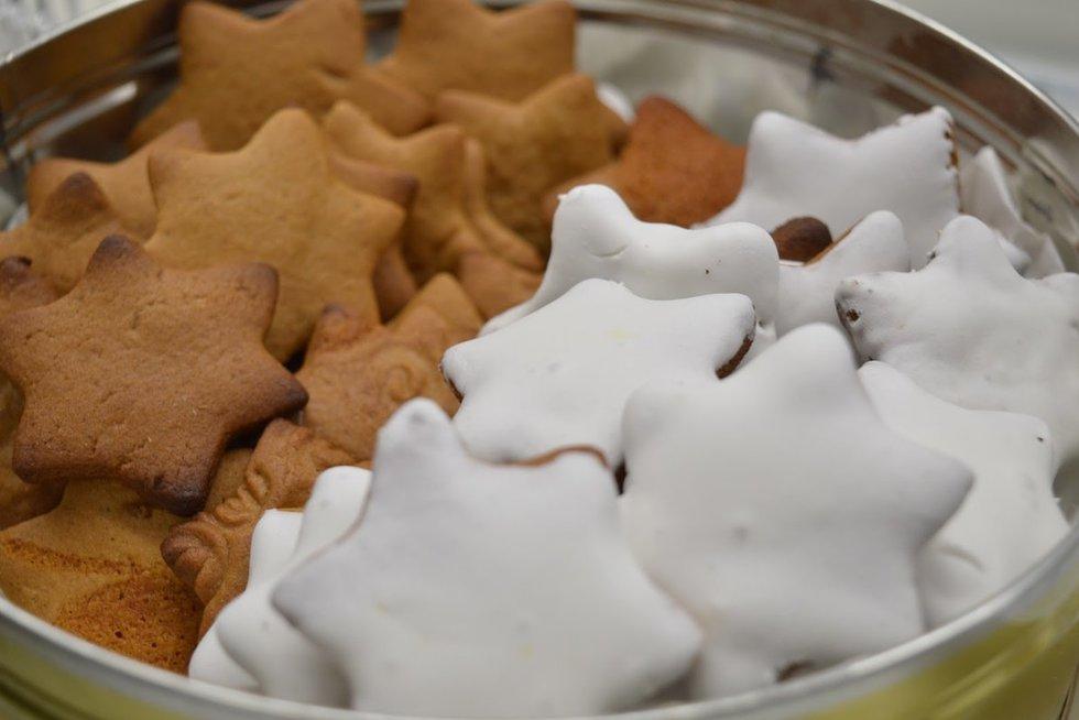 Kalėdiniai sausainiukai (Nuotr. Skanūs kąsneliai)