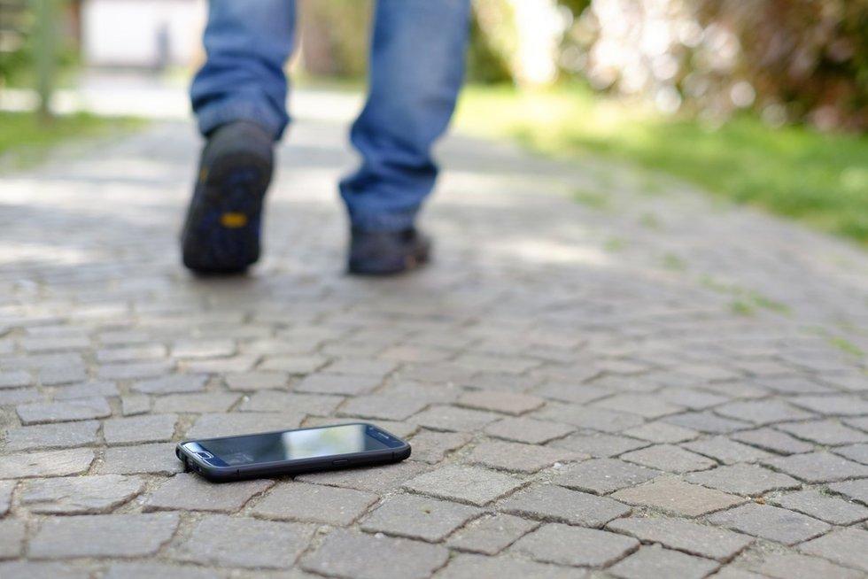 Pamestas telefonas (nuotr. Fotolia.com)