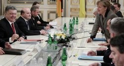 Berlyne – derybos dėl Ukrainos