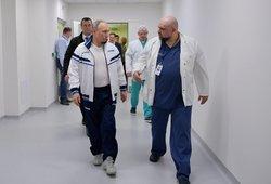 Po susitikimo su koronavirusu užsikrėtusiu gydytoju Putinas dirba nuotoliniu būdu