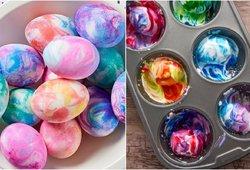Absoliutus neblėstantis Velykų topas: vaivorykštiniai kiaušiniai atrodys tiesiog tobulai