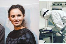 Neseniai namo išleista koronavirusu užsikrėtusi Justina išvežta į ligoninę: simptomai atsinaujino