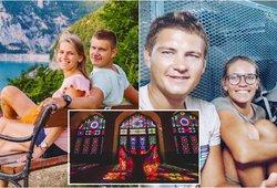 Kol pasaulis skendi baimėje – lietuvių pora keliauja aplink pasaulį: mėgaujasi tuščiomis vietomis