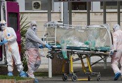 Mirusi moteris buvo iš Ukmergės: su pirmąja koronaviruso auka gulėjo viename ligoninės skyriuje