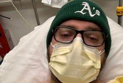 Koronavirusas Justinui smogė iš pasalų: dabar skauda net kvėpuojant