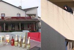 Izoliuotas emigrantas pabėgo alkoholio, bet vėl pritrūko, tad prireikė ir virvės