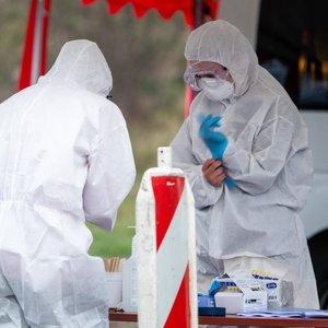 Mobilusis koronaviruso patikros punktas antradienį pradės veikti Telšiuose