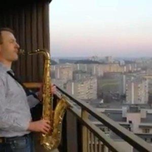 Fabijoniškėse – romantikos oazė: saksofonininkas Kuraitis pasisėmė įkvėpimo iš italų
