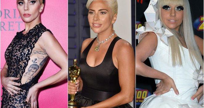 Lady Gaga pokyčiai