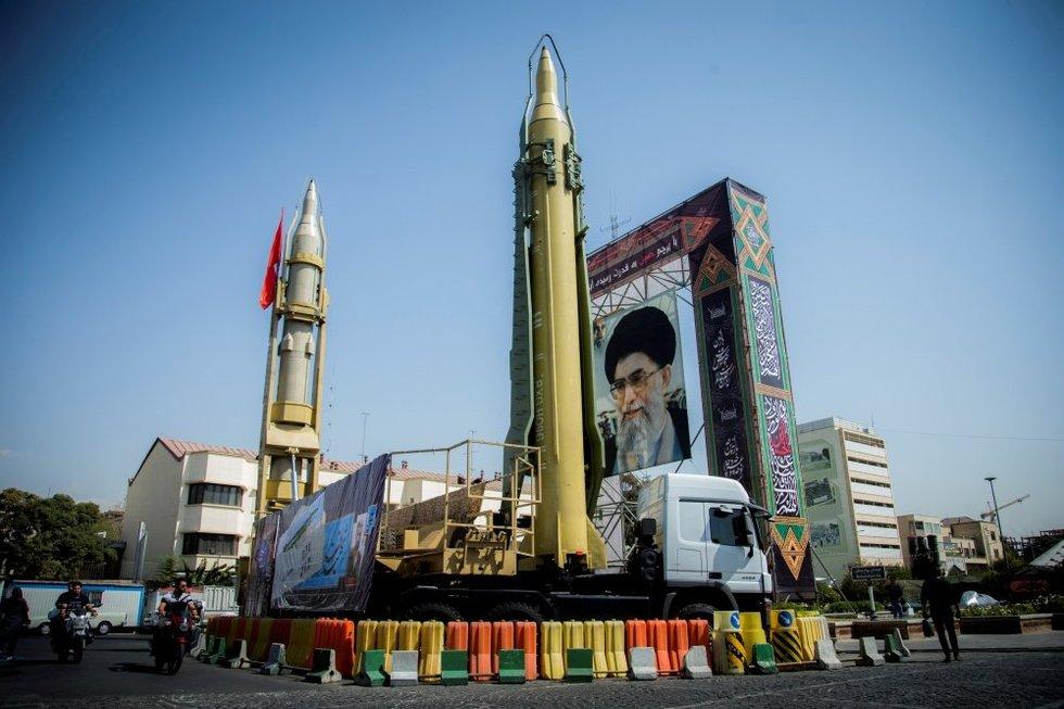 JAV perspėjo: Iranas laukia tokios problemos, kokių dar nėra turėję