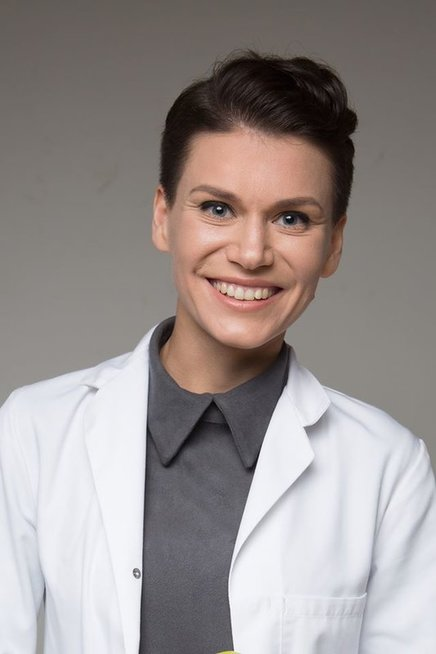 Gydytoja dietologė Evelina Cikanavičiūtė (nuotr. R. Pledo)