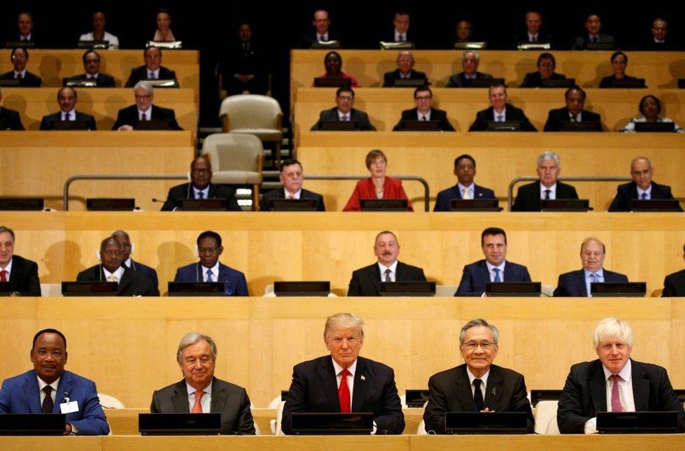 Donaldas Trumpas pristatė stagnuojančios Jungtinių Tautų Organizacijos reformos planą (nuotr. SCANPIX)