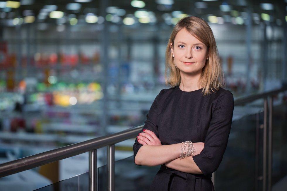 """""""Maxima LT"""" komunikacijos vadovė Renata Dantė (nuotr. asm. archyvo)"""
