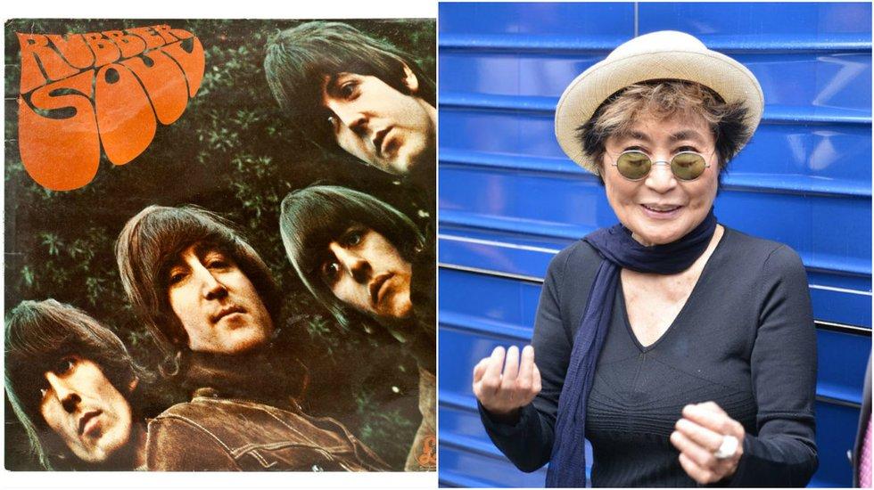 """Yoko Ono ir """"The Beatles"""" (nuotr. Vida Press)"""