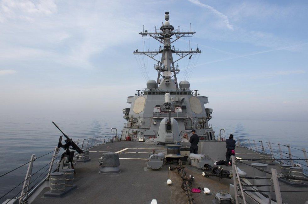 Įtempta situacija: skelbiama, kad JAV ruošiasi smūgiui Sirijoje (nuotr. SCANPIX)