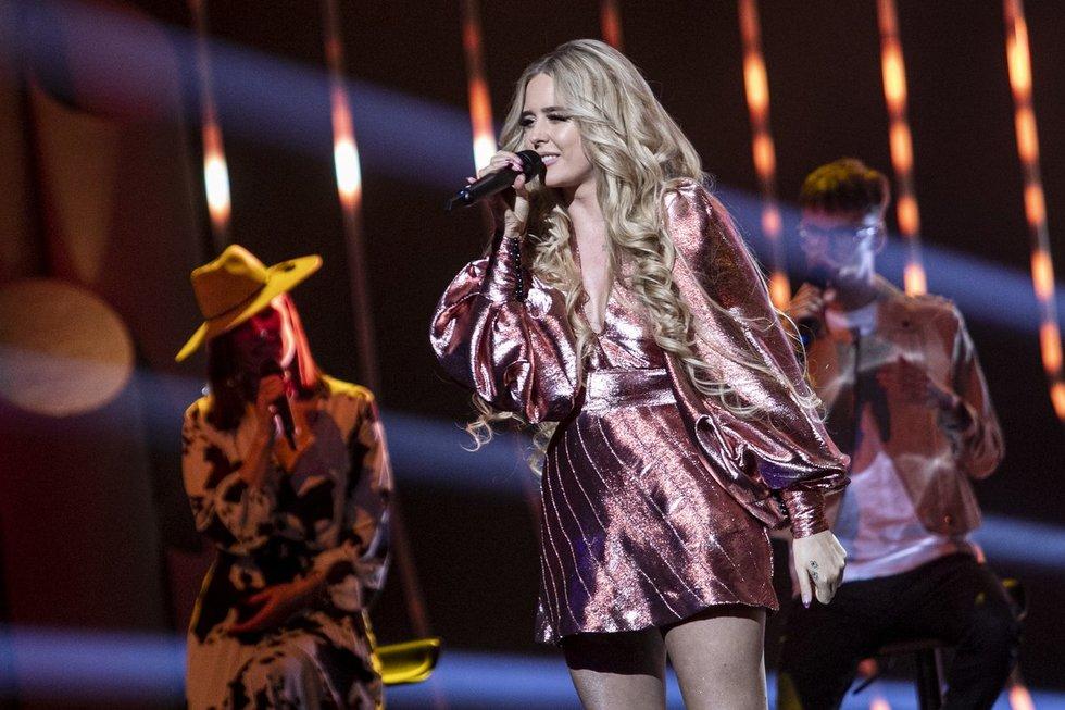 Nacionalinės 'Eurovizijos 2020' atrankos filmavimas(nuotr. Paulius Peleckis)