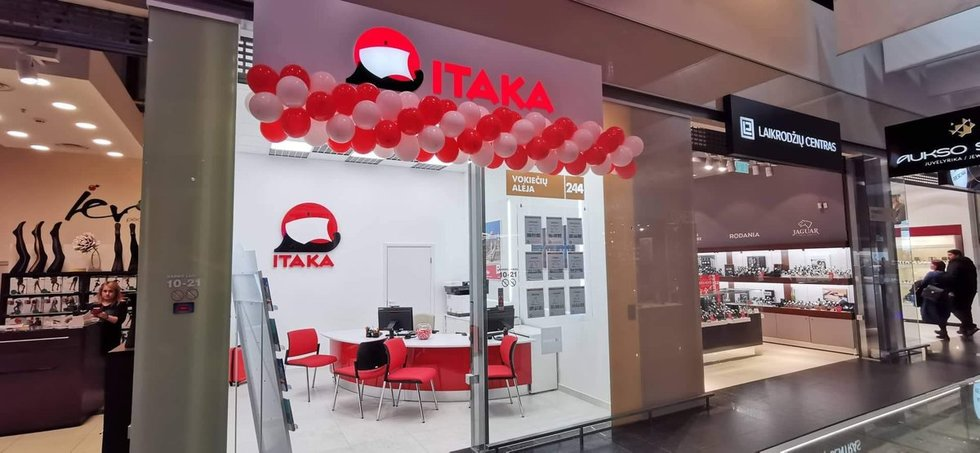 Kelioniu organizatorius ITAKA Lietuva atidaro jau penktąjį pardavimų biurą.