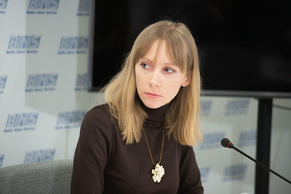 """Lietuvos epilepsijos sergančiųjų sąjungos """"Epilė"""" vadovė Donata Balčikonienė"""