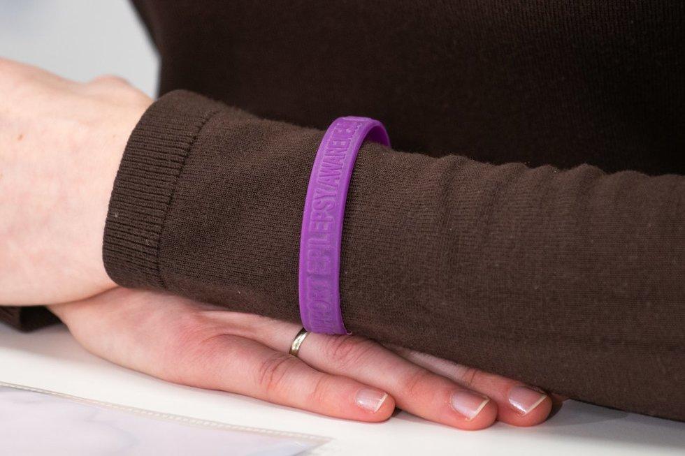 Apyrankė – ženklas, kad epilepsija sirgti ne gėda
