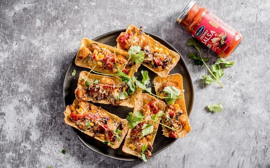 Taco pyragėliai su vištiena ir daržovėmis pagal Valdą Šidlą