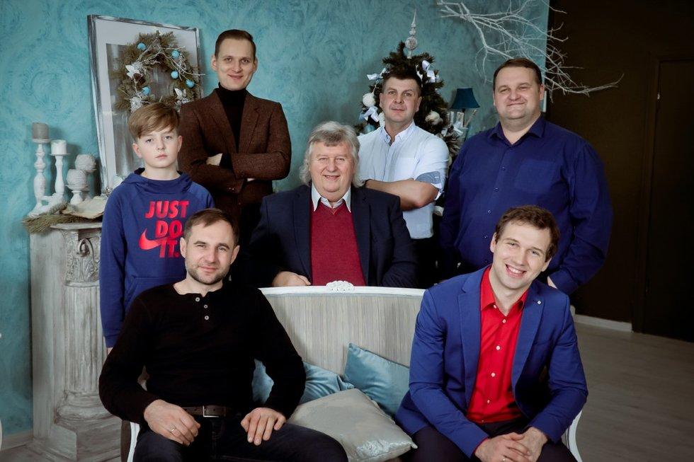 Šeimos vyrai (Nuotr. Paulius Dautartas)