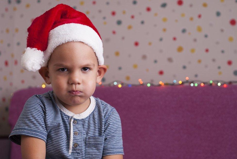 nepatenkintas vaikas, Kalėdos