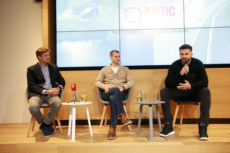 Ilja Laursas, Rytis Kričenas, Linas Kleiza (nuotr. Tv3.lt/Ruslano Kondratjevo)