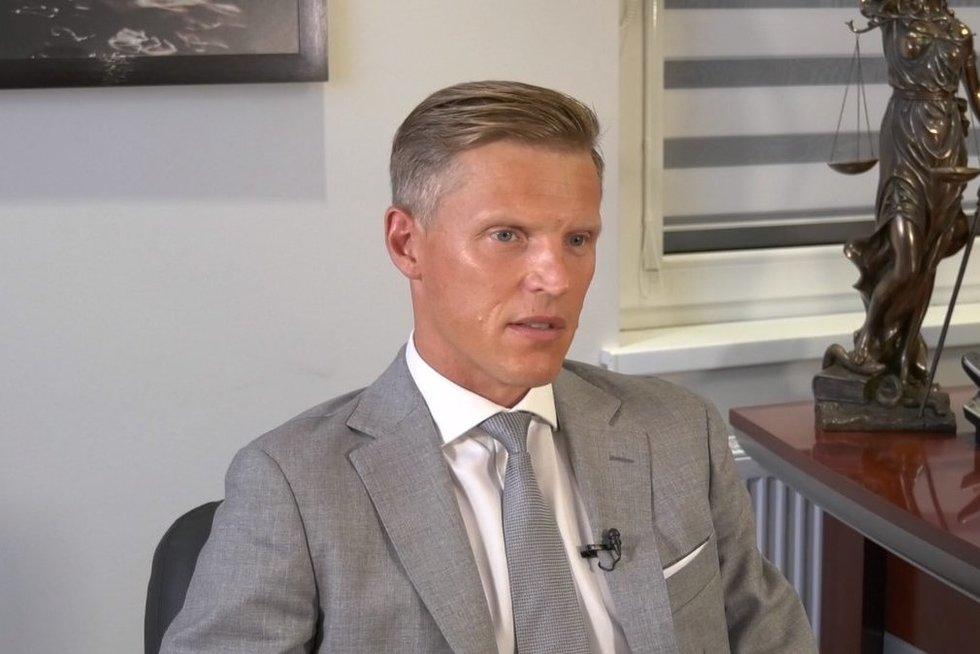 Advokatas Mindaugas Vasiliauskas  (nuotr. stop kadras)