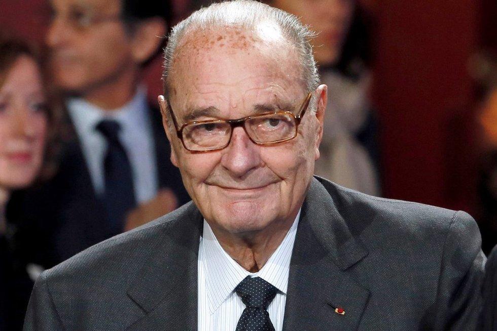 Jacques Chirac (nuotr. SCANPIX)