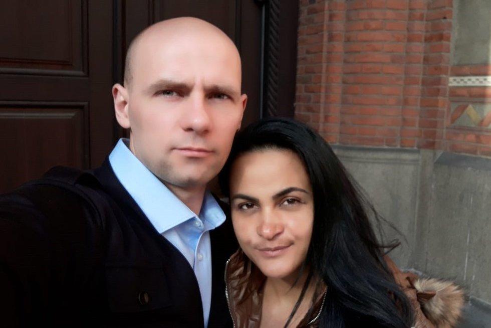 A. Žindul artimieji prašo atsiliepti žmones, kurie pažinojo vyro žmoną (nuotr. facebook.com)