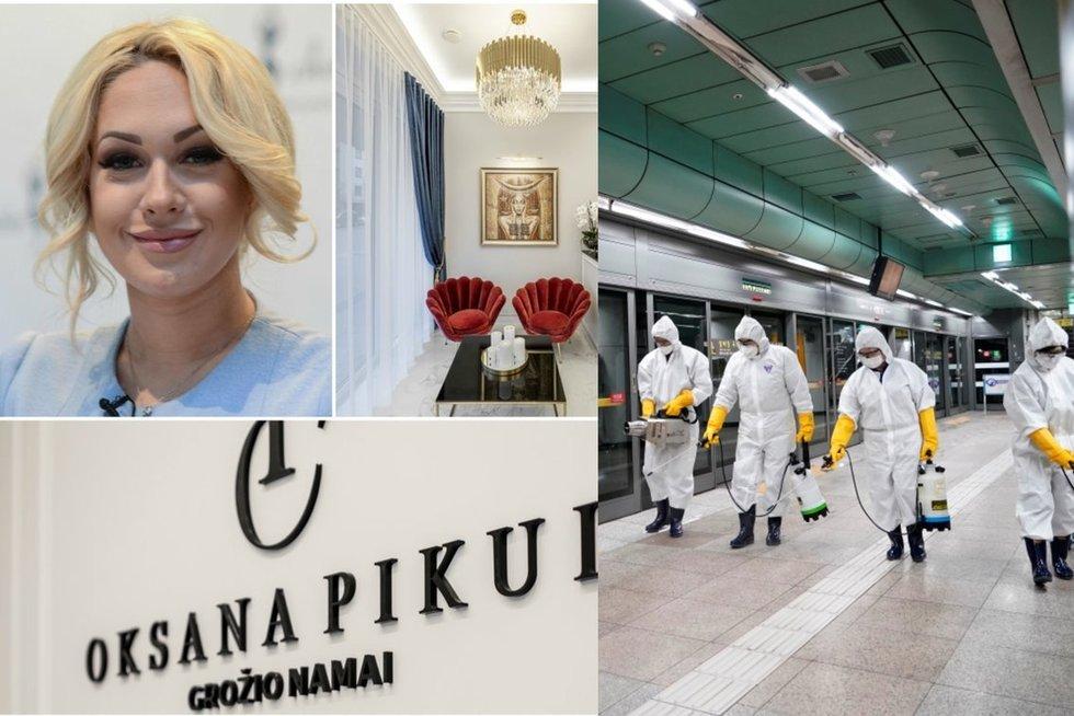 Oksana Pikul-Jasaitienė ir koronavirusas (tv3.lt fotomontažas)