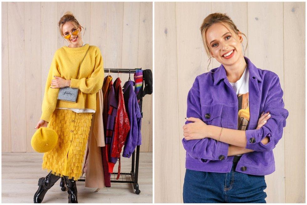Stilistė Šaulytė atvėrė savo spintą: perka ir dėvėtus drabužius (nuotr. Tv3.lt/Ruslano Kondratjevo)