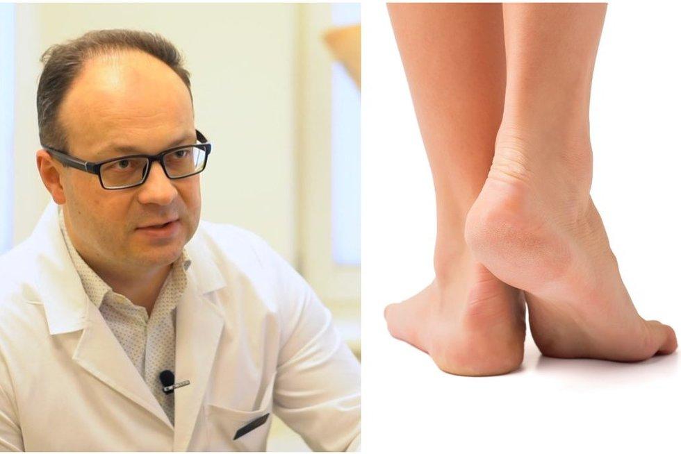 Medikas parodė batus-žudikus: juos nešiojant gali deformuotis pėdos (nuotr. 123rf.com)